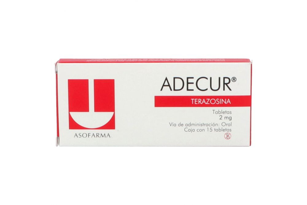 Comprar Adecur 2 Mg Caja 15 Tabletas