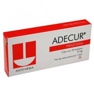 Comprar Adecur 2 Mg Caja 30 Tabletas