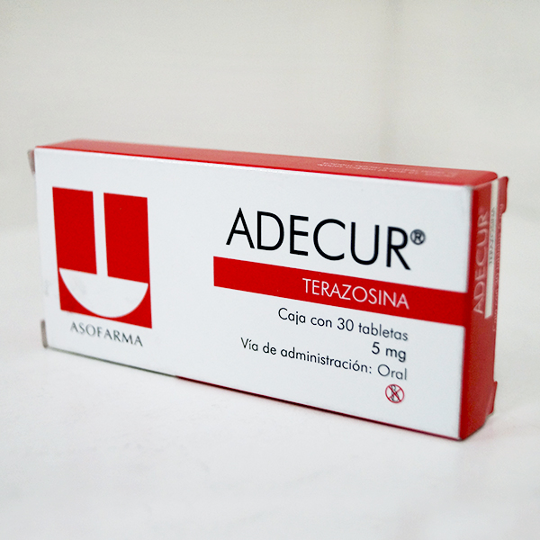 Comprar Adecur 5 Mg Caja 30 Tabletas