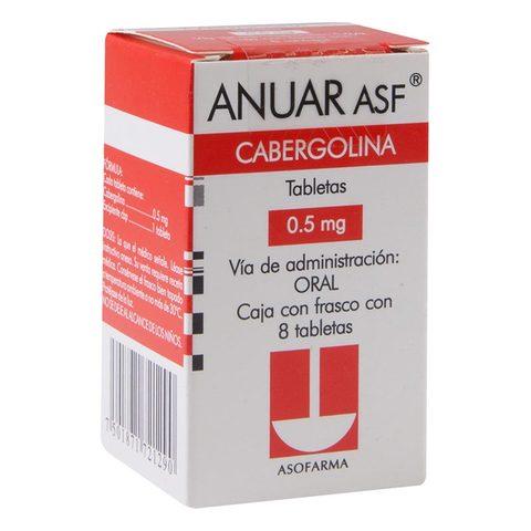 Comprar Anuar Asf 0.5Mg Mg Caja 8 Comprimidos