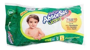 Comprar Absorsec Grande Pañal C/ 3 Pzas Pañal Unisex Grande 1 Bolsa 3 Piezas