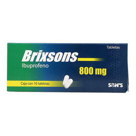 Comprar Ibuprofeno 800 Mg Caja 10 Tabletas