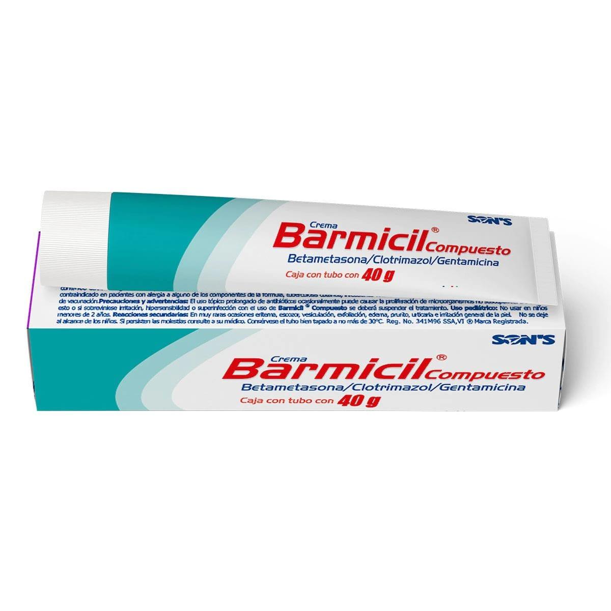 Comprar Barmicil 50 Mg 1 Tubo Crema 40 Gr