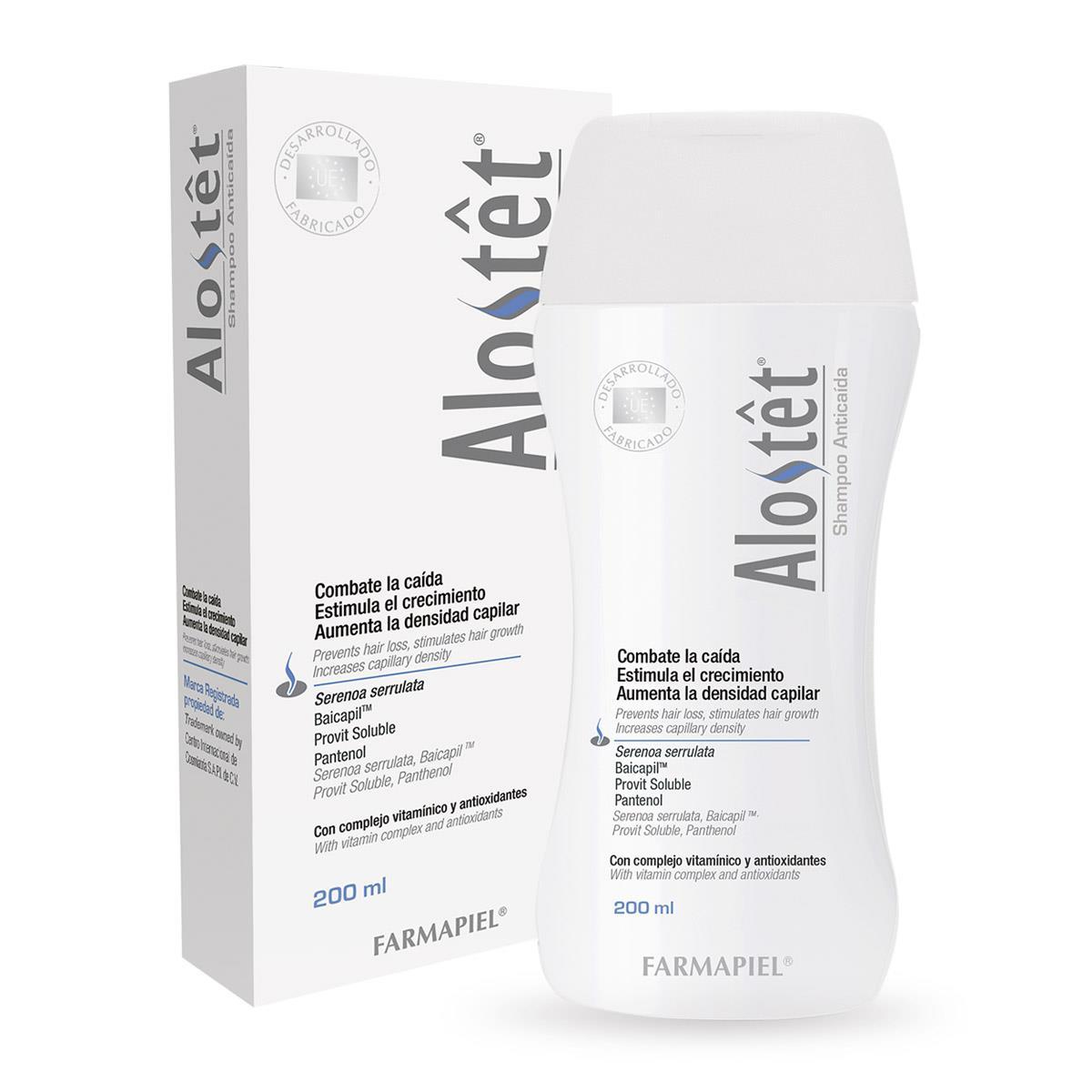 Comprar Alostet Anticaida 1 Botella Shampoo 200 Ml
