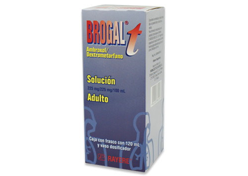 Comprar Brogal T 11.2/11.2 Mg 1 Frasco Jarabe 120 Ml