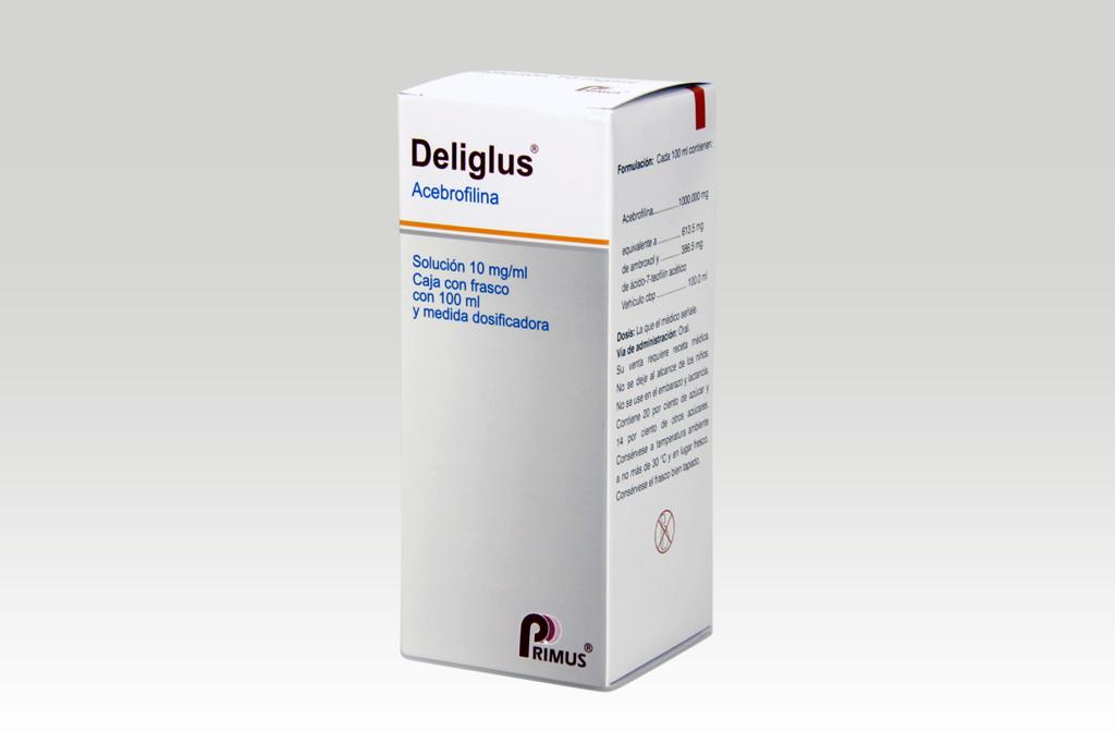 Comprar Deliglus 10 Mg 1 Frasco Solucion 100 Ml
