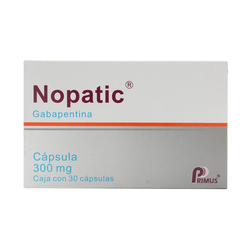 Comprar Nopatic 300 Mg Caja 30 Capsulas
