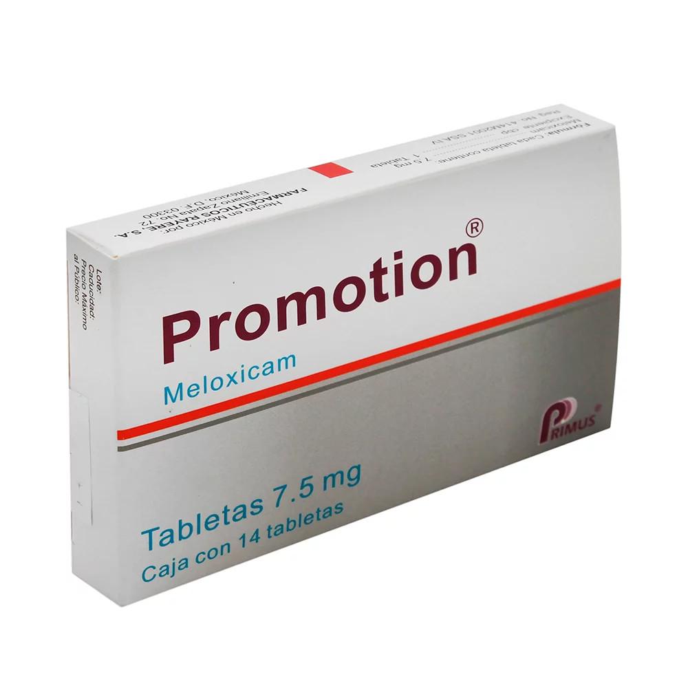 Comprar Promotion 7.5 Mg Caja 14 Tabletas