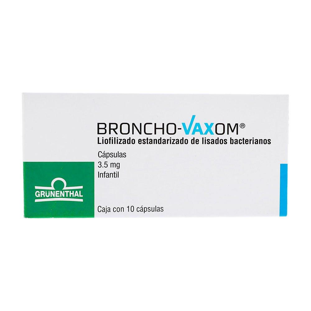 Comprar Broncho Vaxom Inf 3.5 Mg Caja 10 Capsulas