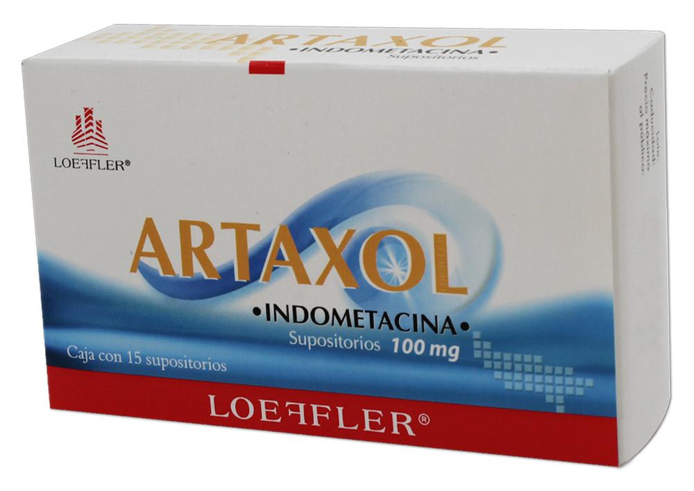 Comprar Artaxol 100 Mg Caja 15 Supositorios