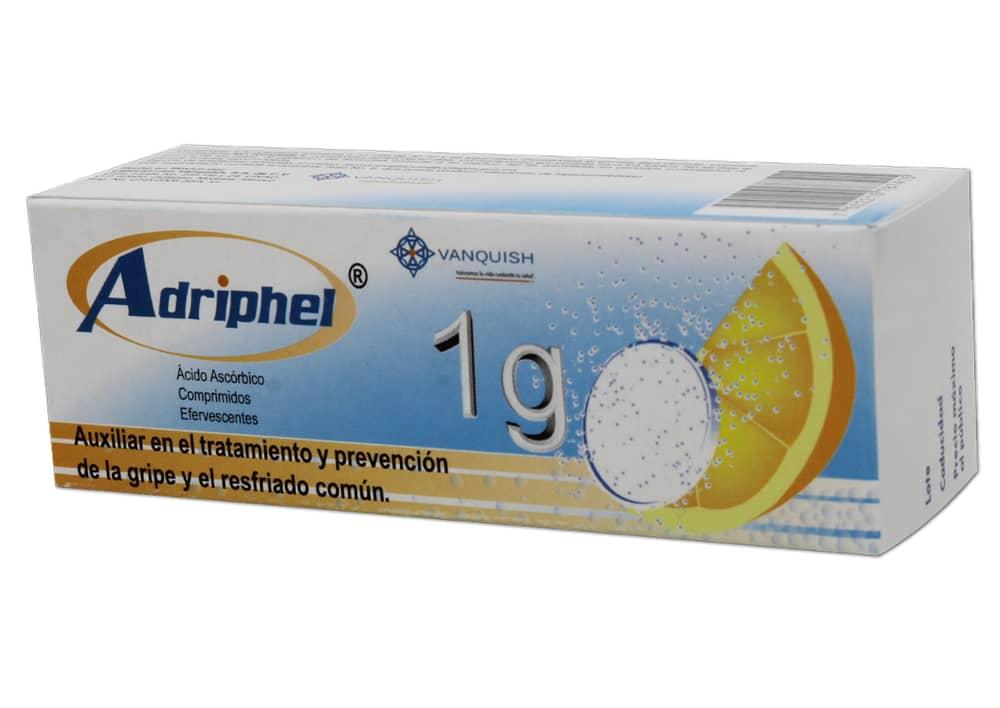 Comprar Adriphel Efervecente Naranja 1 Gr 1 Caja 10 Comprimidos