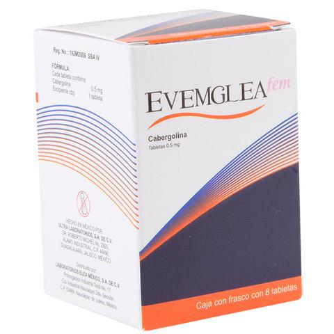 Evemglea Fem 0.5 Mg 1 Caja 8 Tabletas