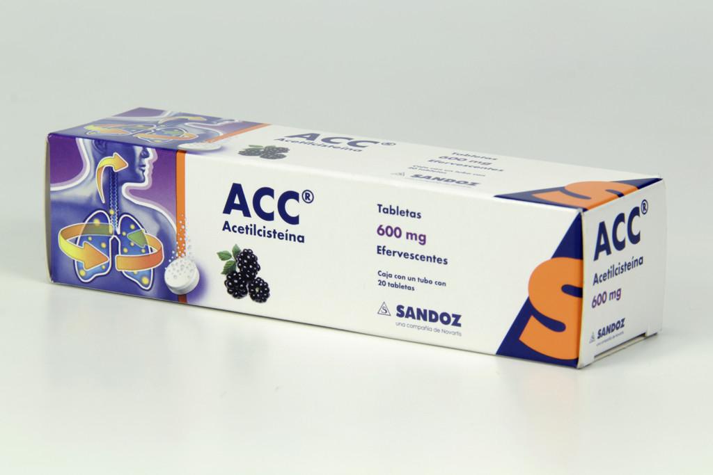 Comprar Acc Efervecente 600 Mg Caja 20 Tabletas