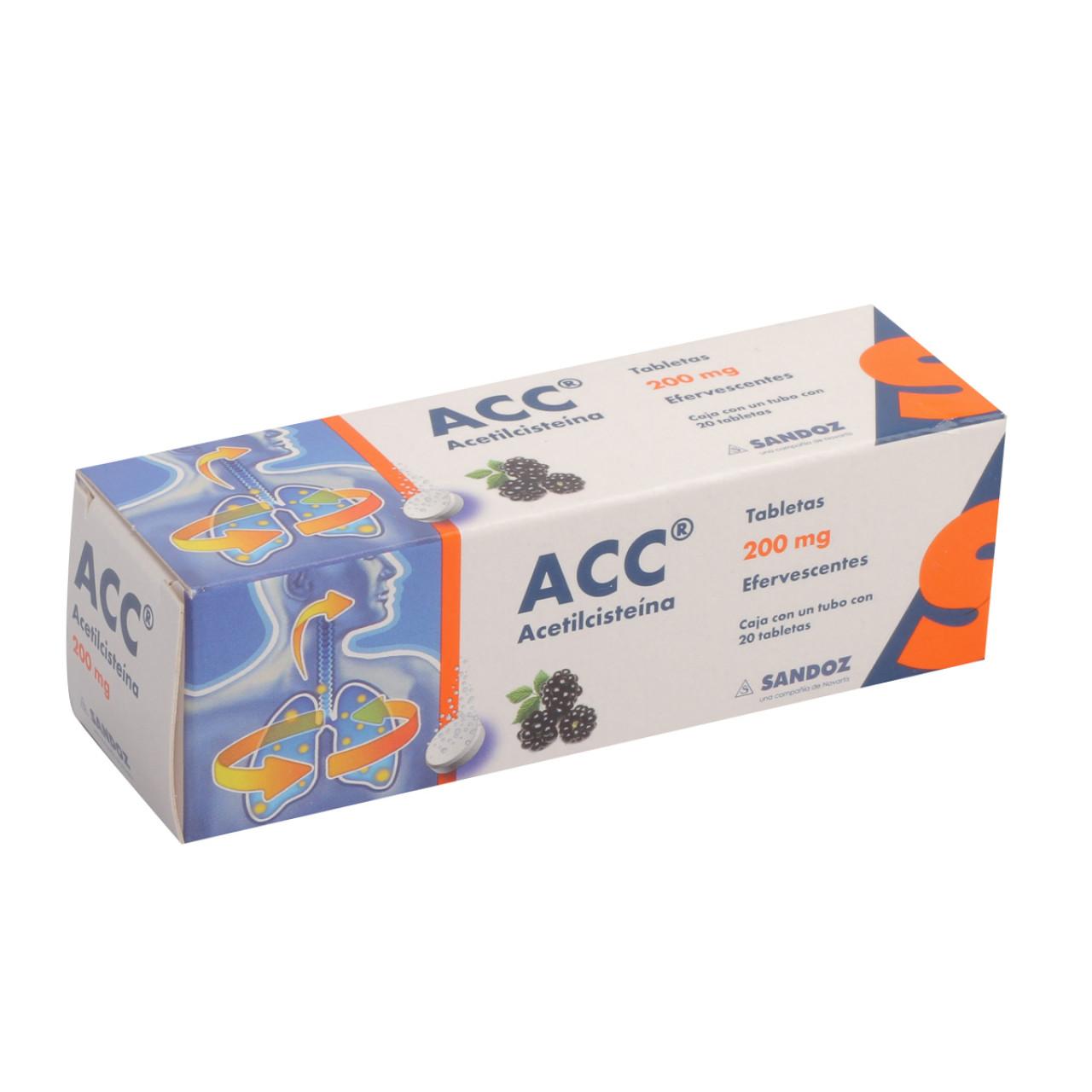 Comprar Acc Efervecente 200 Mg Caja 20 Tabletas