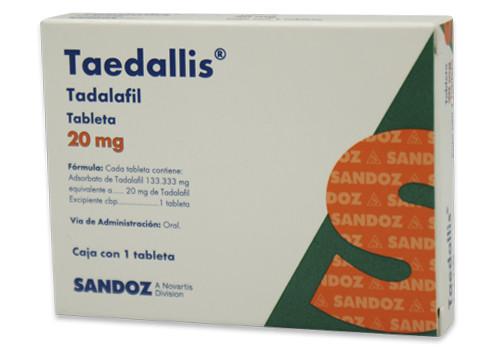 Taedallis 20 Mg 1 Caja 1 Tableta