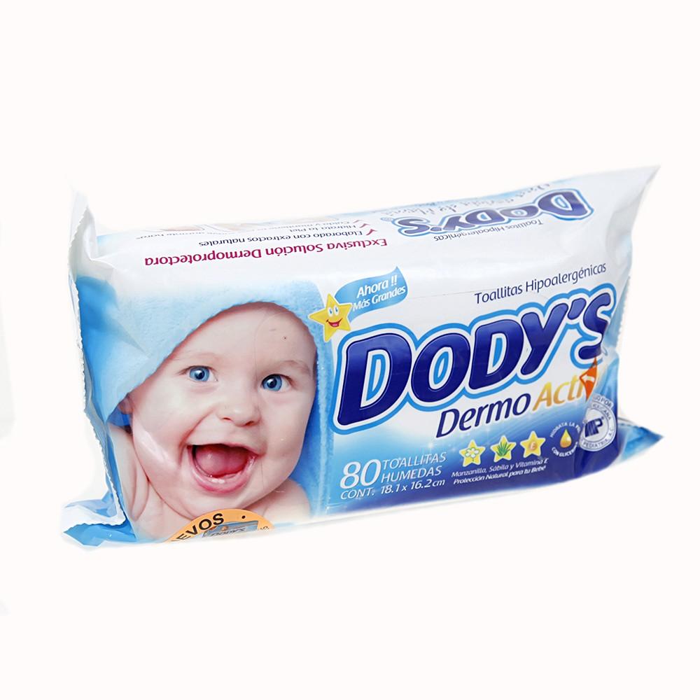 Comprar Dodys Dermoactive Rosa Toallitas Humedas 1 Paquete 80 Toallas