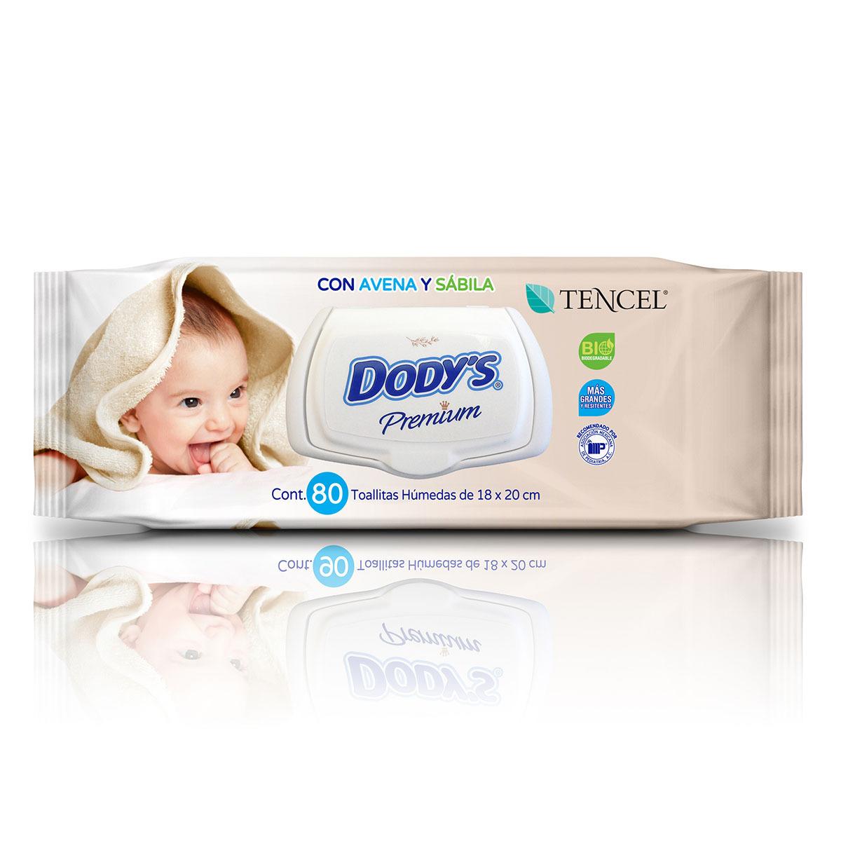 Comprar Dodys Premium Toallitas Humedas 1 Paquete 80 Toallas