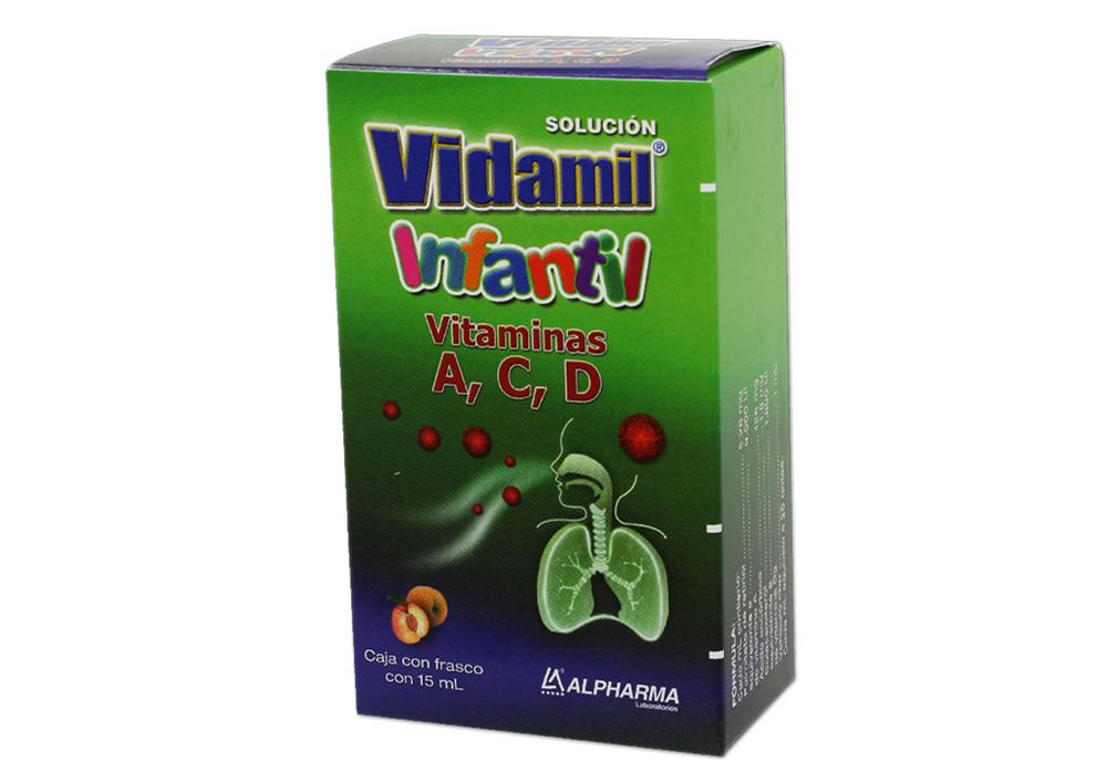 Comprar Vidamil Infantil 1 Frasco Solucion 15 Ml