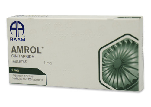 Comprar online AMROL 25 TAB 1 MG