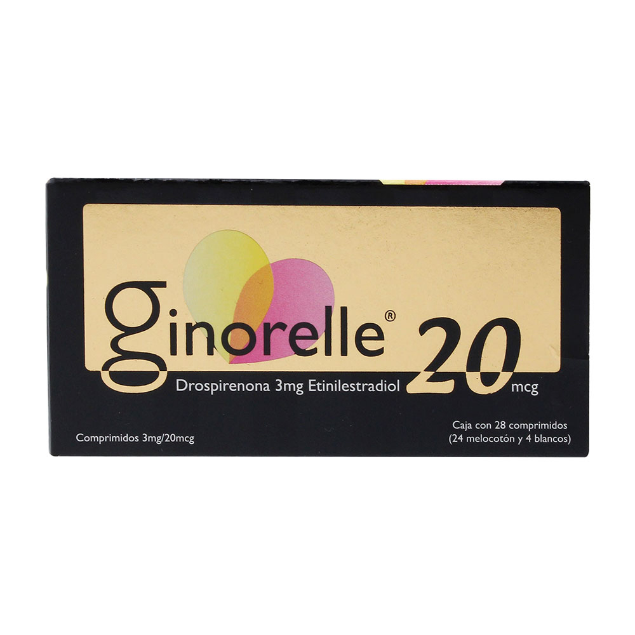 Comprar Ginorelle 20 3/20 Mg/Mcg Caja 28 Comprimidos