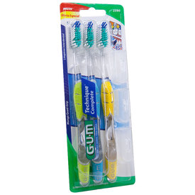 Comprar Gum Technique Con 3 Tapas 3 Pack 1 Blister Cepillo Dental