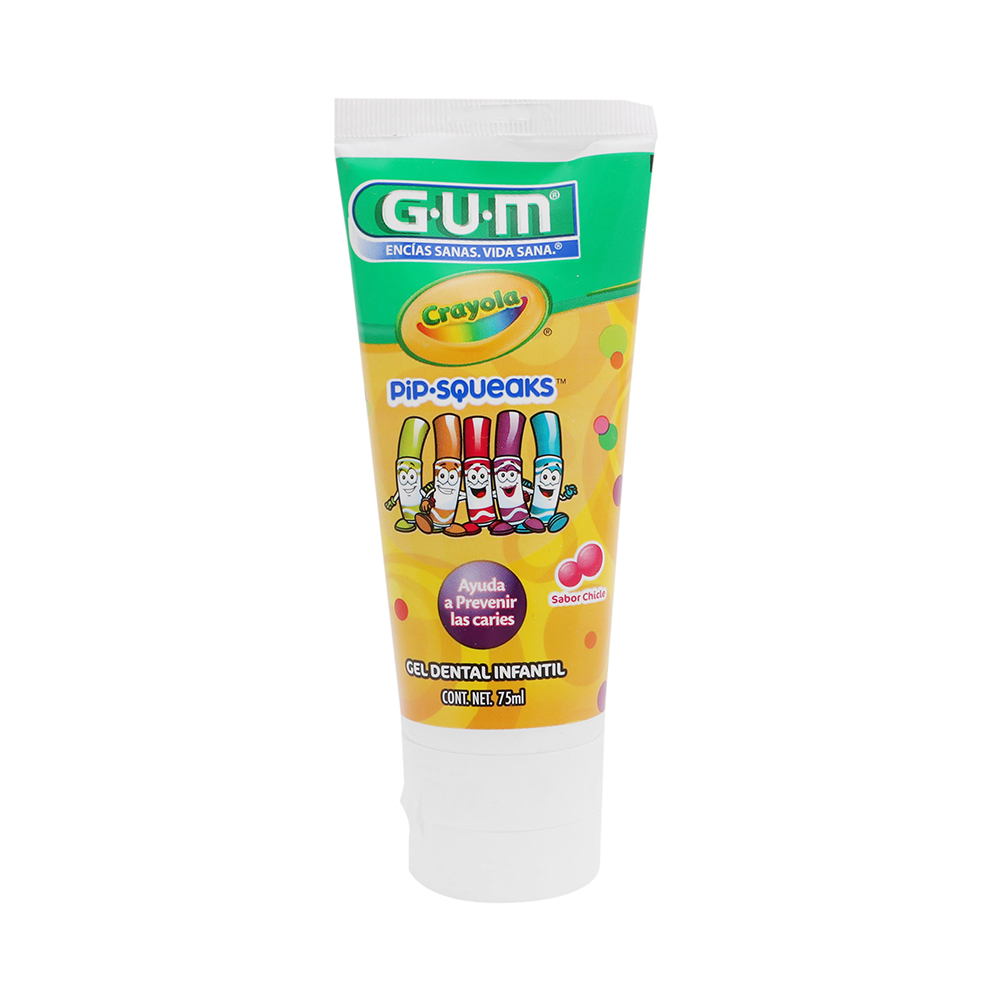 Comprar Gum Crayola Crema Dental Inf Chicle 1 Tubo 75 Ml