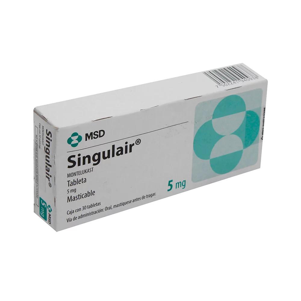 Comprar Singulair 5 Mg Caja 30 Tabletas