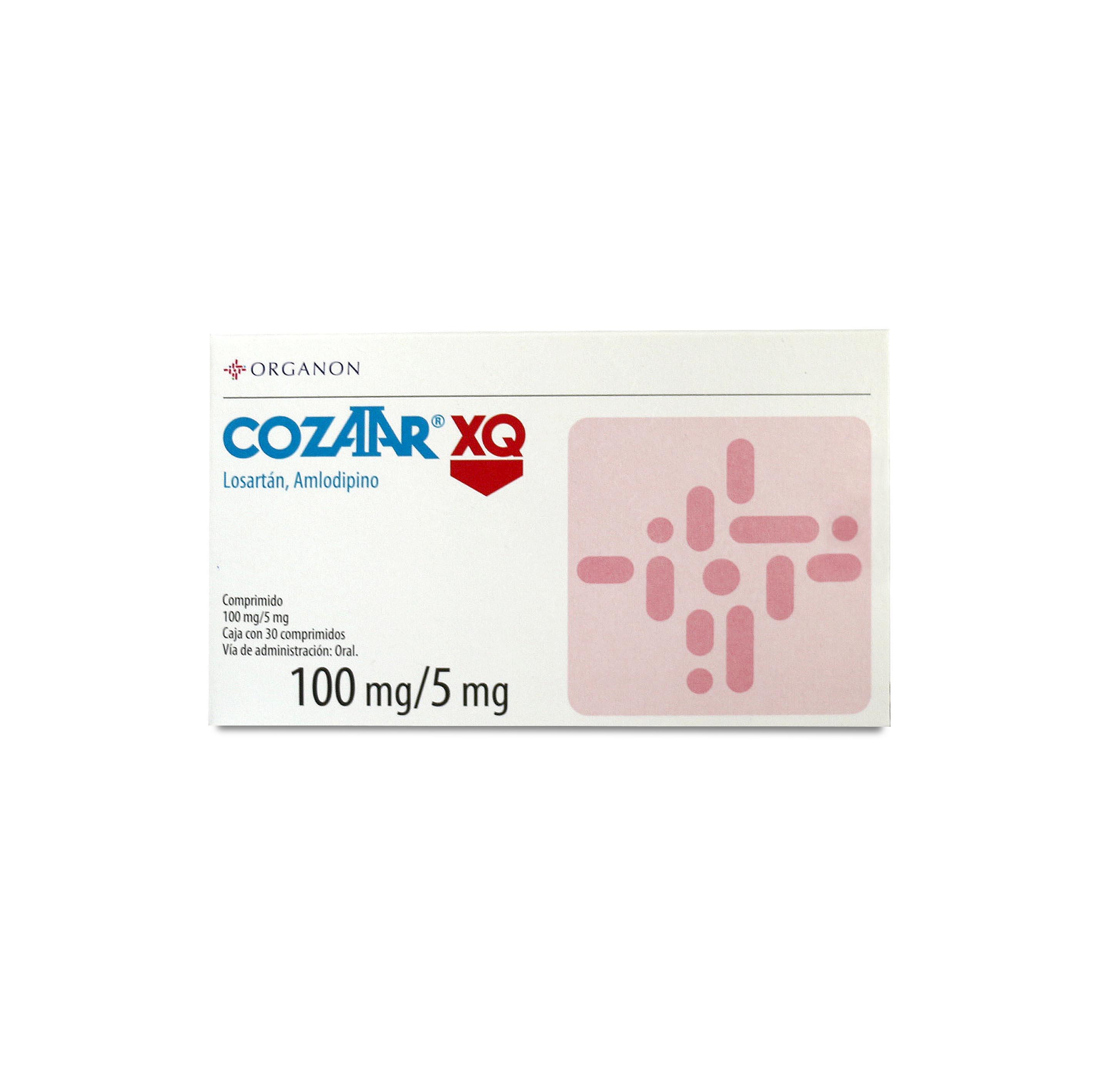 Comprar Cozaar Xq 100/5 Mg Caja 30 Comprimidos