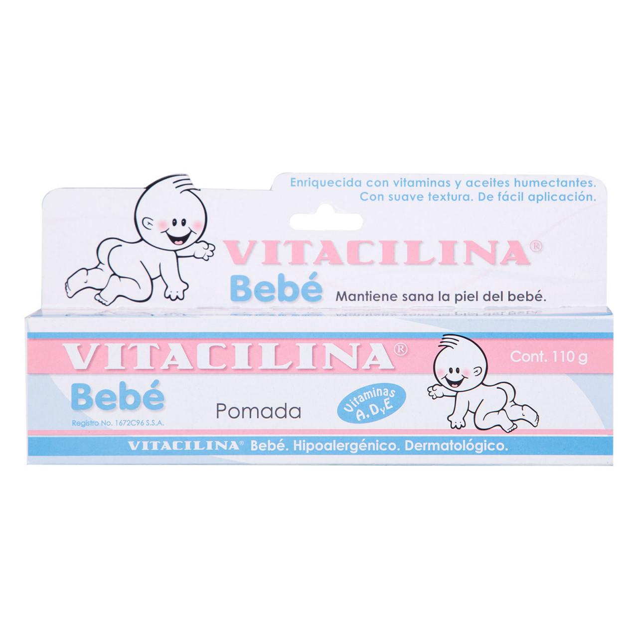 Comprar Vitacilina Bebe 1 Tubo Pomada 110 Gr