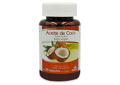 ACEITE DE COCO 30 CAPS 1.5 G