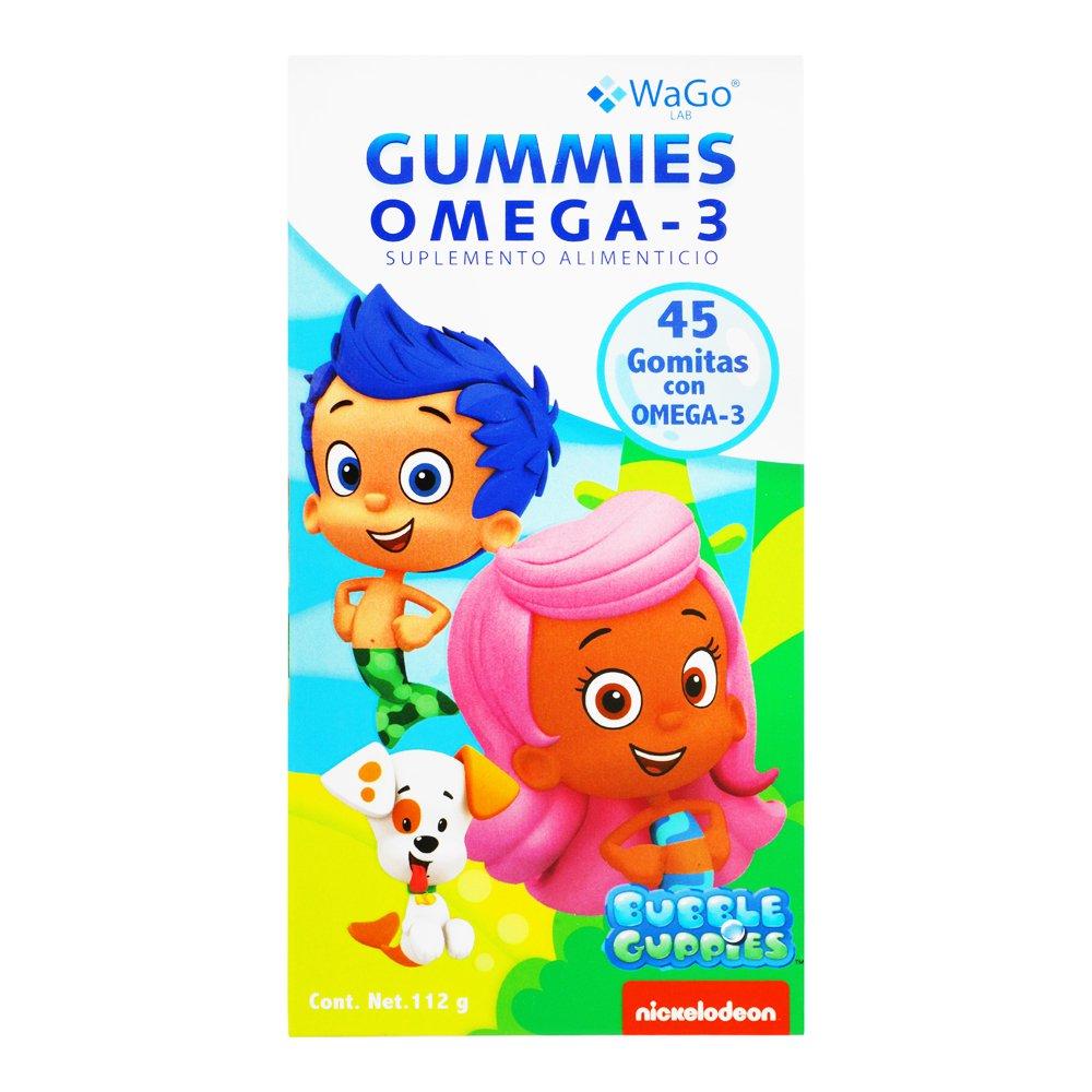Comprar Wago Omega 3 Ad Gummies 1 Frasco 45 Gomas