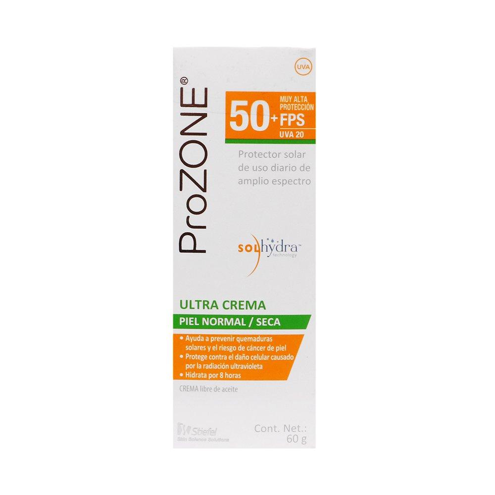 Comprar Prozone Ultra Crema Fps 50 + 60 Gr 1 Tubo Crema