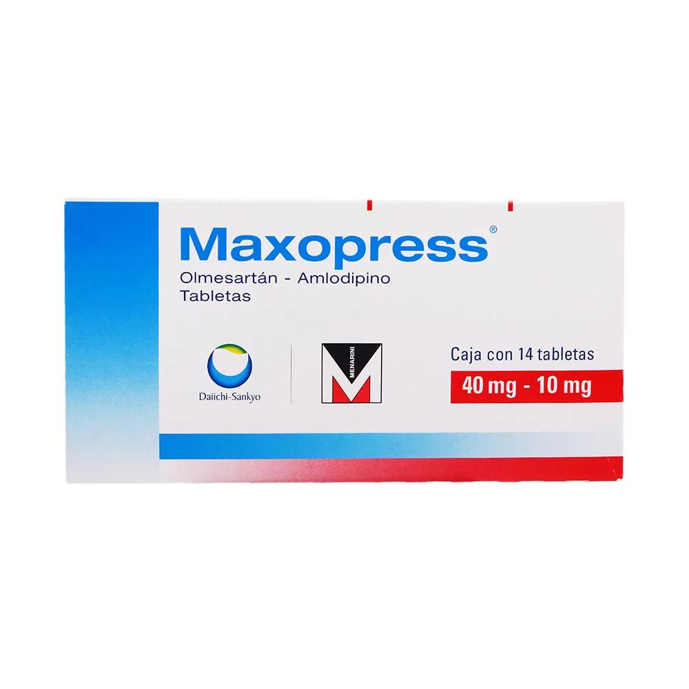 Comprar Maxopress 40/10 Mg Caja 14 Tabletas