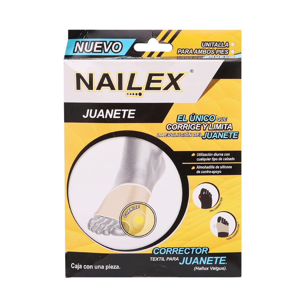 Comprar Nailex Corrector Textil P/Juanetes 1 Pieza
