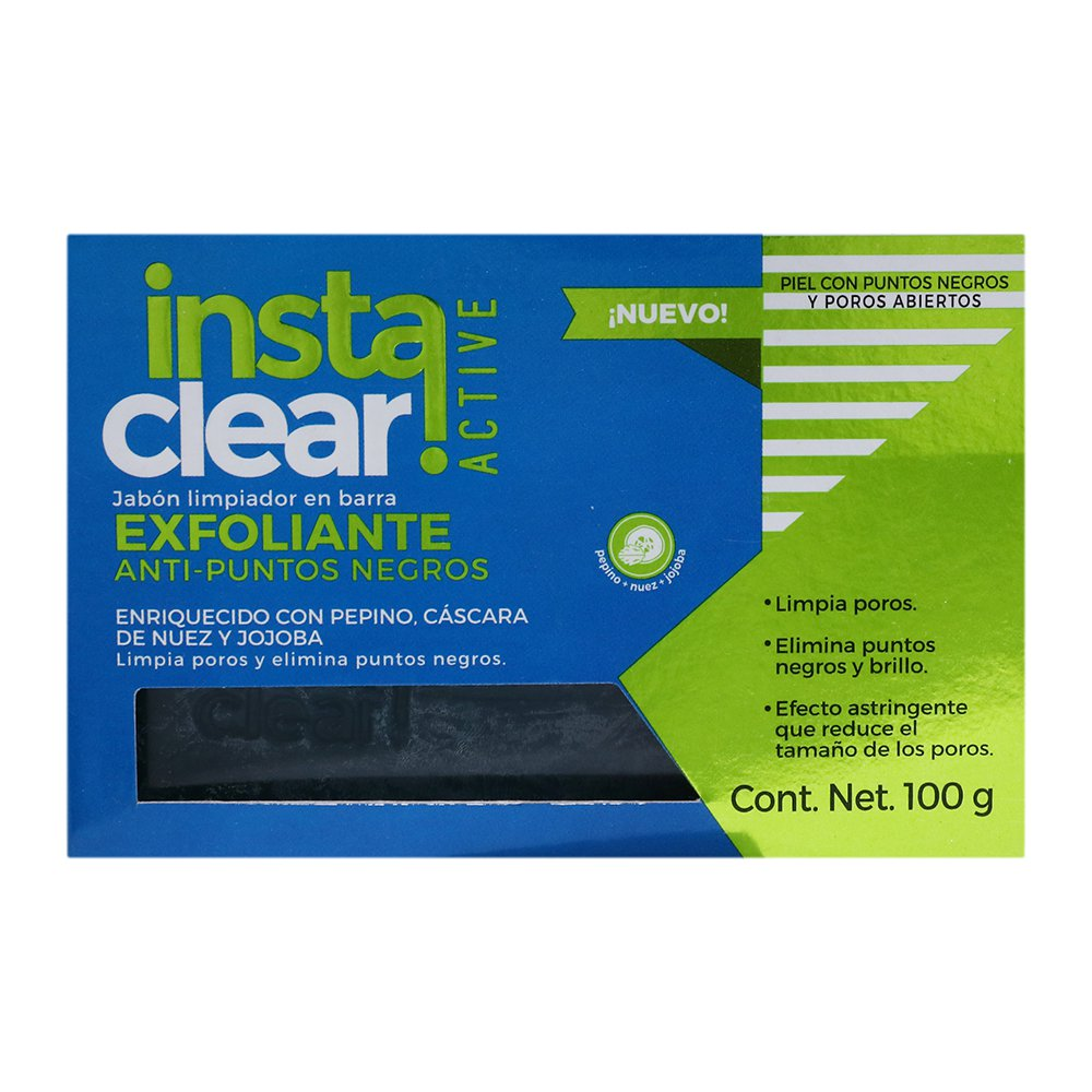Comprar Instaclear Exfol A/Puntos Negros Jabon 1 Bolsa 100 Gr