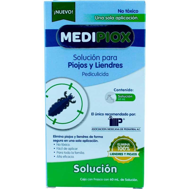 Comprar Medipiox Para Piojos Y Liendres 1 Frasco Solucion 60 Ml