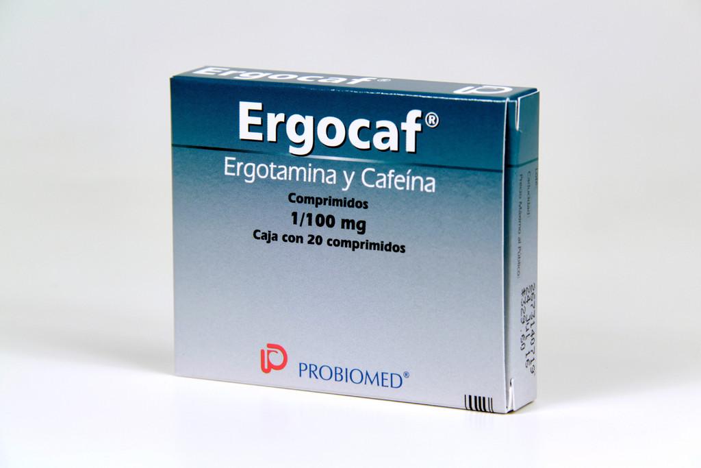 Comprar Ergocaf 1/100 Mg 1 Caja 20 Comprimidos