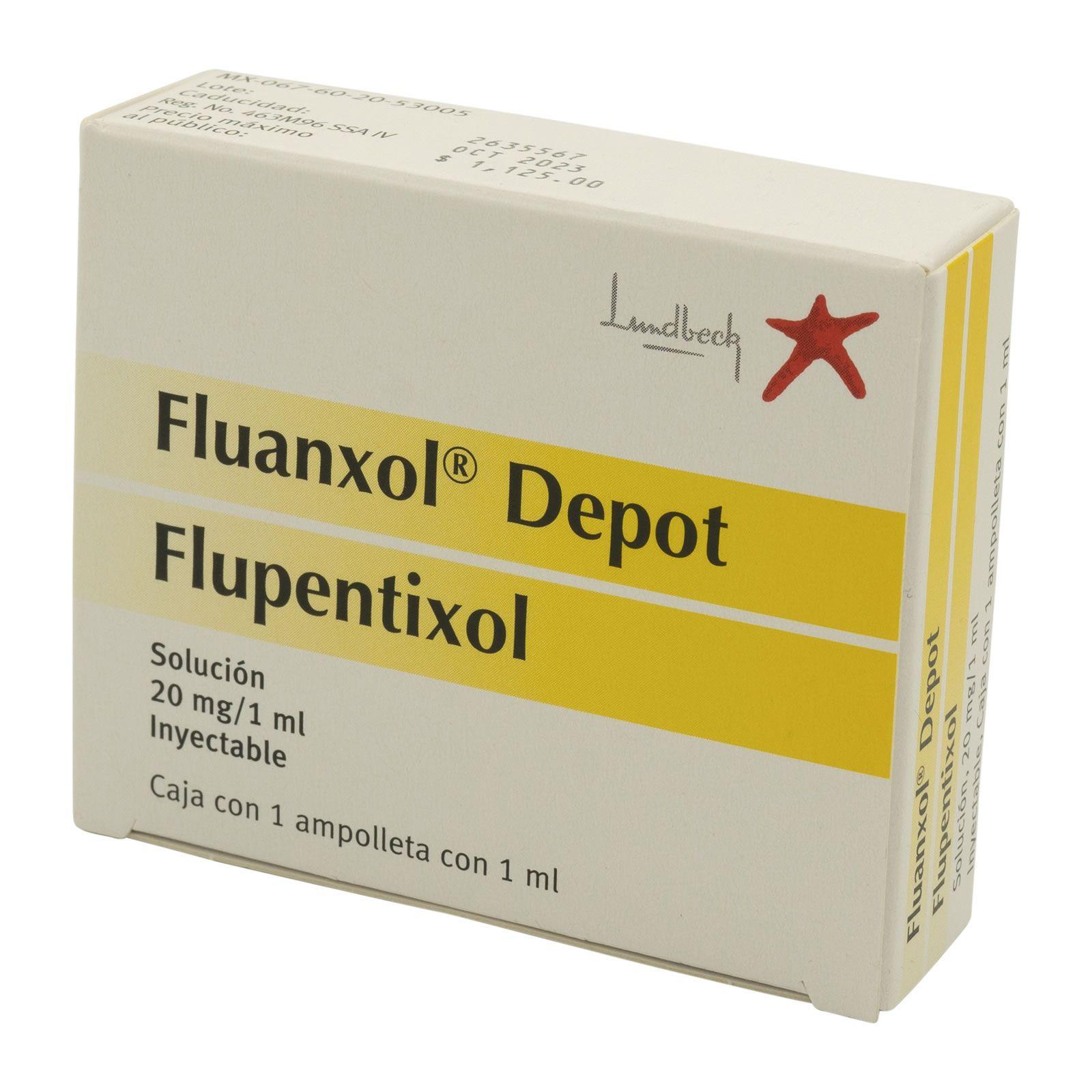 Comprar Fluanxol Depot 20 Mg Caja 1 Ampolleta 1 Ml