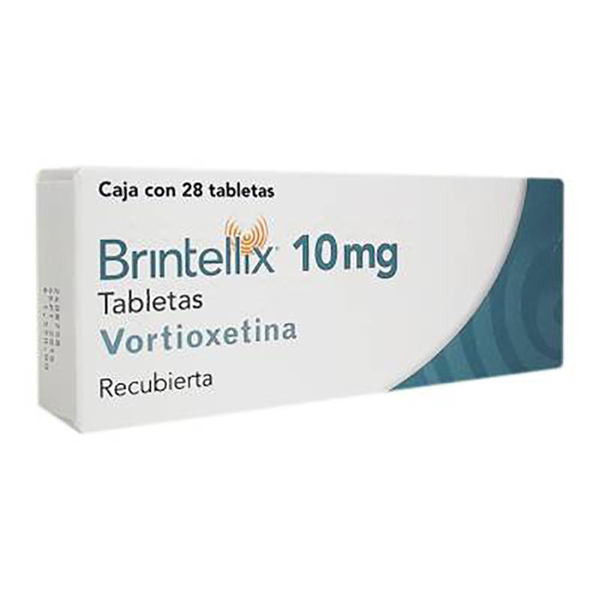 Comprar Brintellix 10 Mg Caja 28 Tabletas
