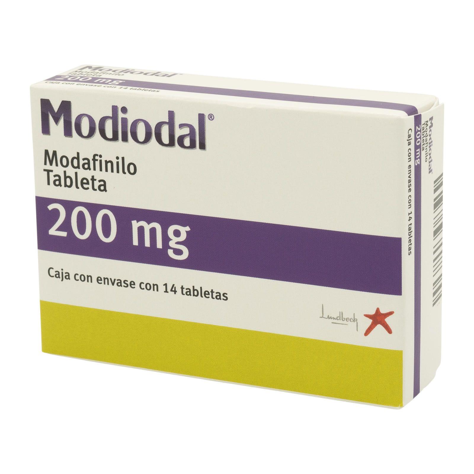 Comprar Modiodal 200 Mg Caja 14 Tabletas
