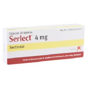 Comprar Serlect 4 Mg 1 Caja 10 Tabletas