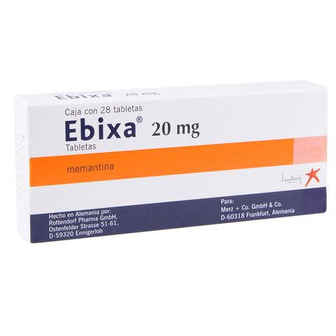 Comprar Ebixa 20 Mg Caja 28 Tabletas