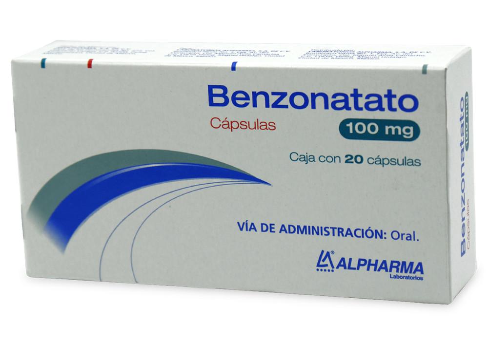 Comprar Benzonatato 100 Mg Caja 20 Capsulas