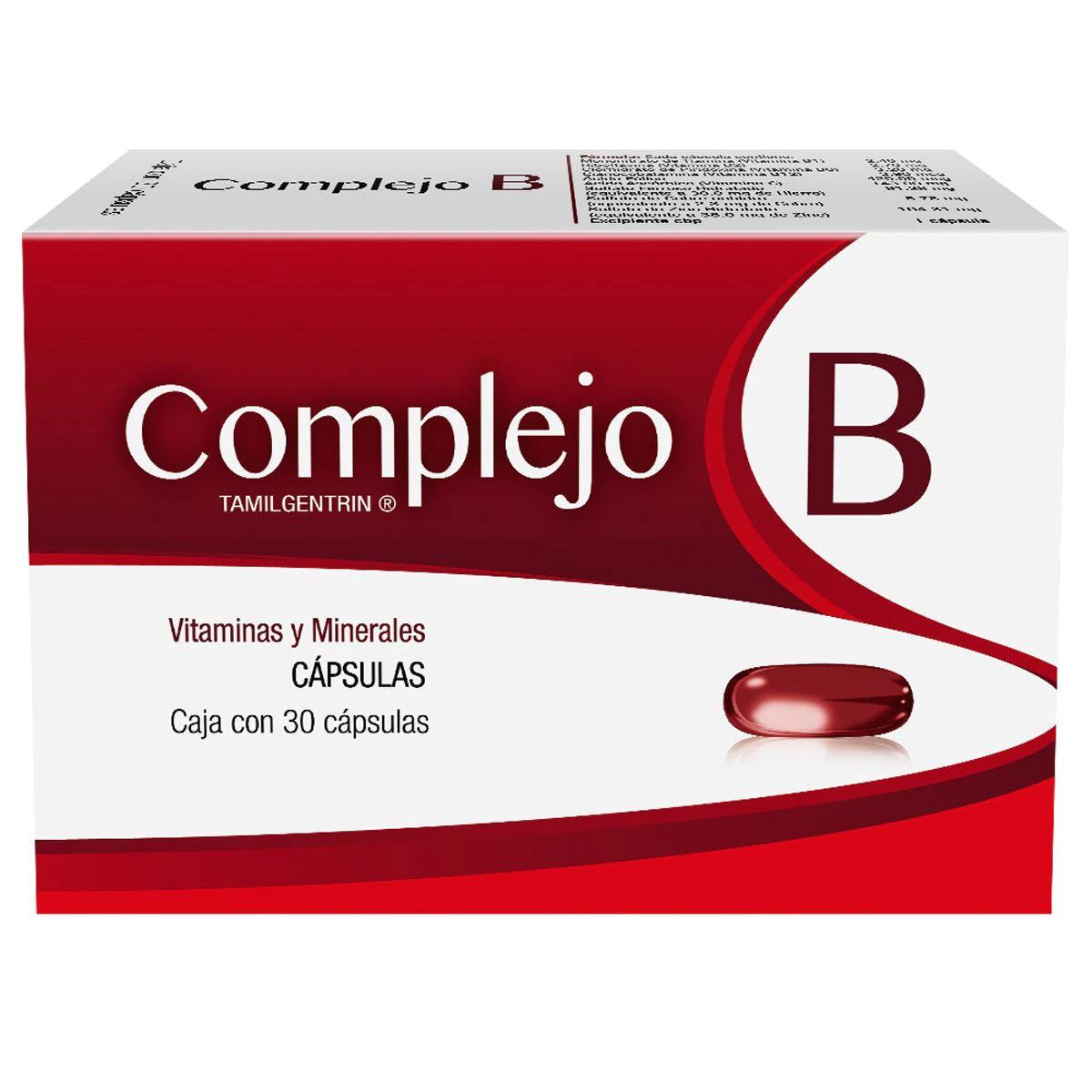 Comprar Complejo B 1 Caja 30 Capsulas