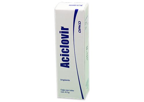 ACICLOVIR 1 UNG 4.5 G