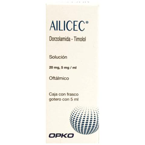 Comprar Ailicec Oftalmico 20/5 Mg 1 Frasco Solucion 5 Ml