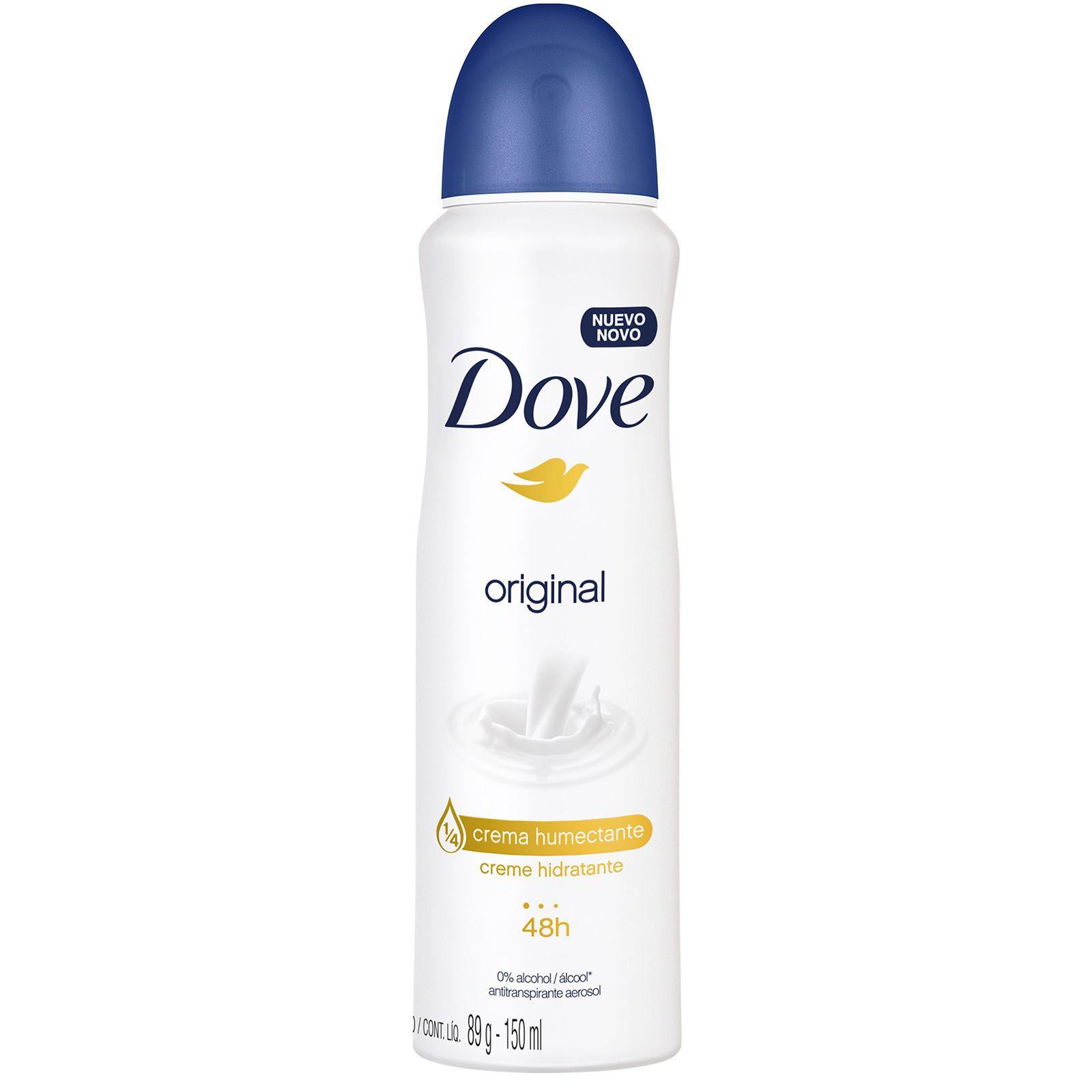 Comprar Dove Original 48 Hr 1 Bote Spray 150 Ml