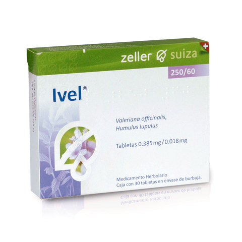Comprar Ivel 250/60 Mg Caja 30 Tabletas
