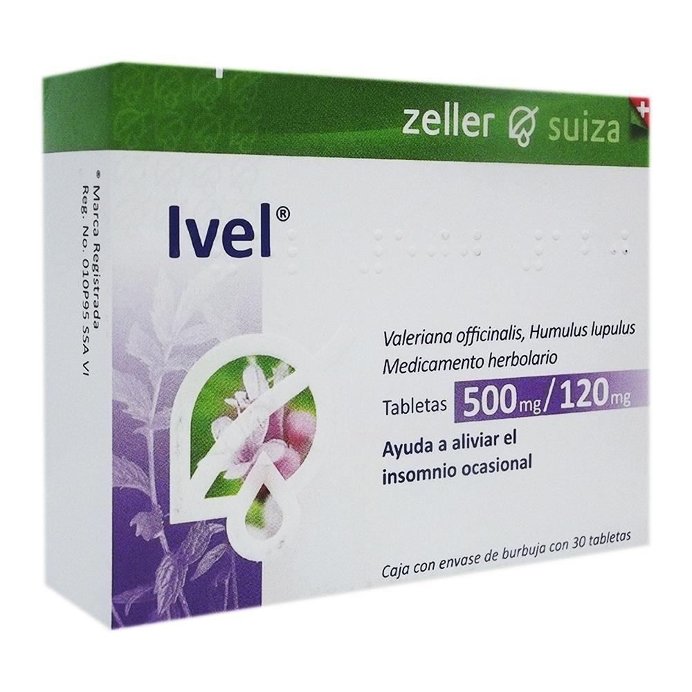Comprar Ivel 500/120 Mg Caja 30 Tabletas