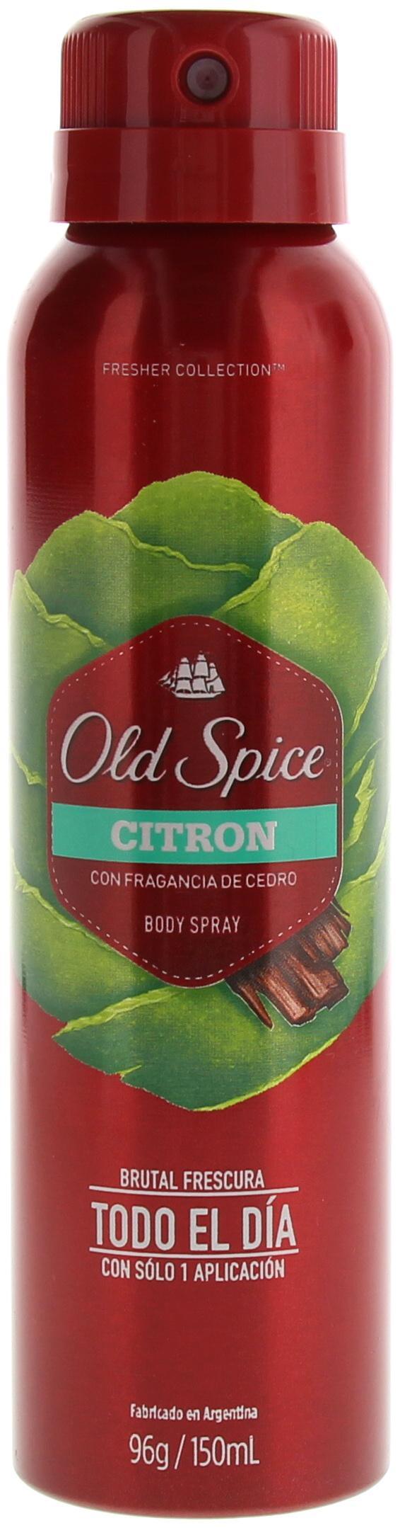 Comprar Old Spice Citron 1 Bote Spray 150 Ml